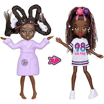 Failfix Dance.stylz Total Makeover Pack, 8.5 Inch Doll With Long Braided