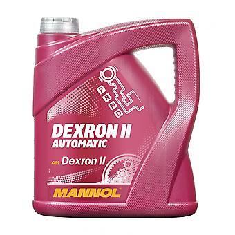 Fluide de direction assistée Mannol 4L GM Dexron II 2 Fluide de transmission automatique AQM Fluide de direction assistée