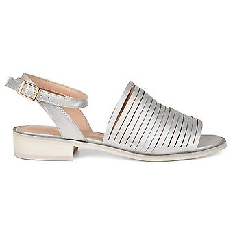 Brinley Co Womens platte sandalen