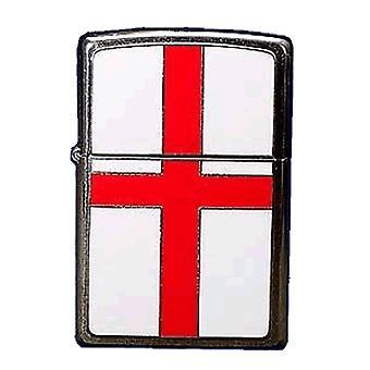 Zippo Angleterre Drapeau Enamel Emblem Lighter -