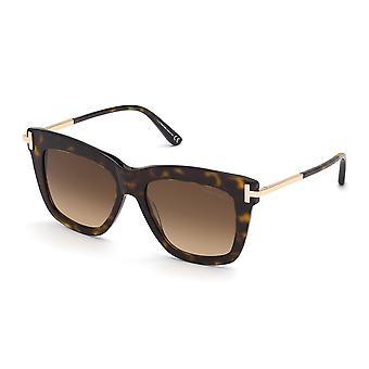 توم فورد داشا TF822 52F الظلام هافانا / براون نظارات متدرجة