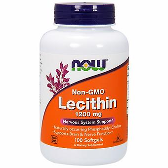 Now Foods Lecithin, 1200 mg, 100 Sgels