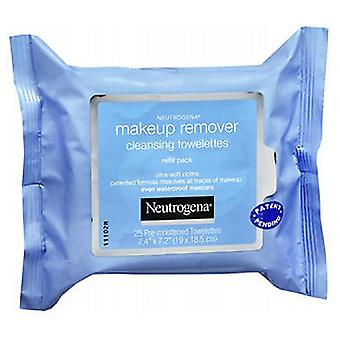 Neutrogena Makeup Remover Cleansing Towelettes Refill Pack, 25 each