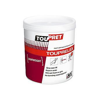 Toupret TOUPRELEX® Exterior Fast Drying Lightweight Filler 1kg