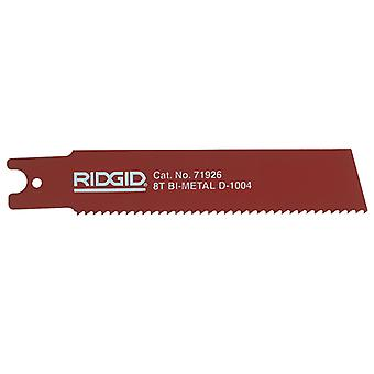 Ridgid 71926 Reciprocating Saw Blade For Heavy Wall Steel Pipe 150mm (6in) 5pk