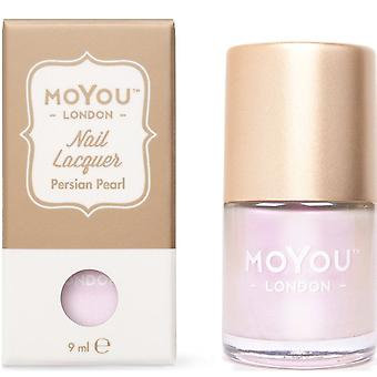MoYou London Stamping Nail Laque - Perle persane 9ml (mn141)
