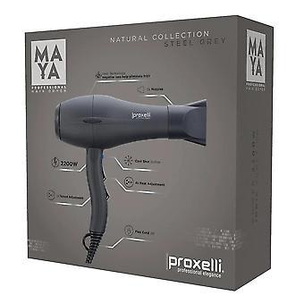 Proxelli MAYA Hairdryer - Steel Grey