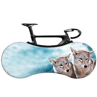 Cykelskyddsskyddsskydd MTB Väg cykeltillbehör Anti-dust Hjul Ram Täcka Repsäker Förvaringsväska 160x55cm Cykelskydd