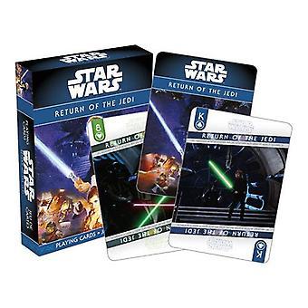 מלחמת הכוכבים - ep. 6 החזרה של הג'דיי משחק קלפים