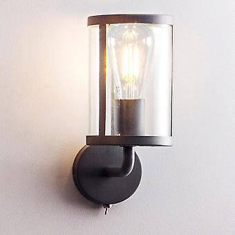 Garden Trading Cadogan Switched Wall Light In Carbon Black