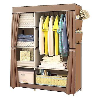 Bedroom Multipurpose Non-woven Cloth Wardrobe Folding Portable Clothing Storage