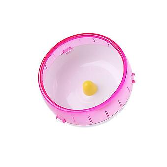Pet Hamster Running Disc Toy Silent Rotatory Jogging Sports Wheel Toys Cage