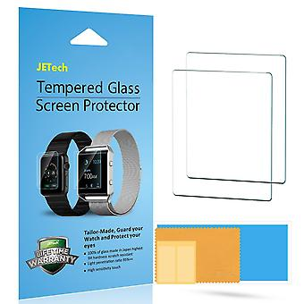 Jetech screen protector for apple watch 38mm series 1 2 3, tempered glass film, 2-pack