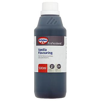 1 x 500ml Dr Oetker Vanilla Essence Baking Flavour Concentrate Cakes Biscuits