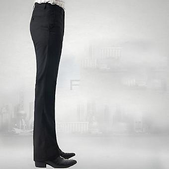 Pantalons évasés de printemps, pantalons casual pour hommes et pieds chauds