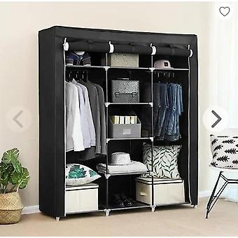 Non-woven Cloth Wardrobe, Bedroom Folding Clothing Storage Cabinet