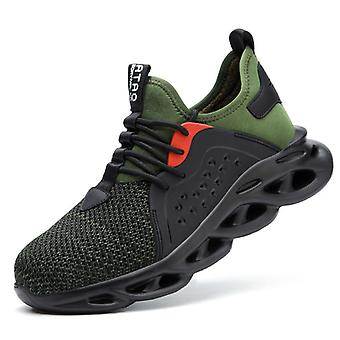 Male Work Sneakers Toe Cap Work Safety Boot Comfort