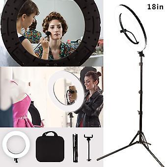 """Gskaiwen 18"""" Kit di luci ad anello a led da 60w di mmabile fotografia video studio luce video con slot batteria"""