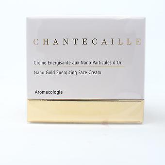 Chantecaille Nano Gold Energizing Face Cream 1.7oz/50ml Novo com caixa