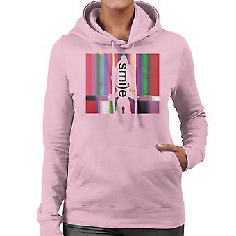 トロールシルエットスマイルウーマン&アポス;sフード付きスウェットシャツ