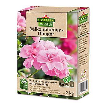 FLORISSA Special fertilizer for balcony flowers, 2 kg