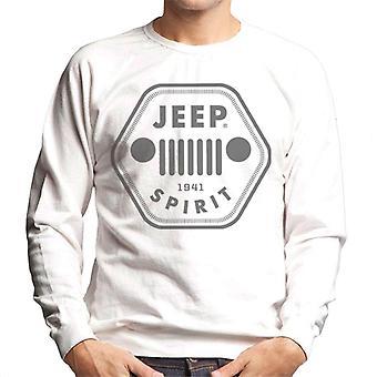 Jeep 1941 Spirit Logo Men's Sweatshirt