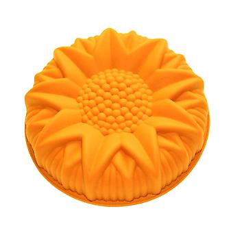 Inch Bakeware Cake Molds Silicone Non-stick Sunflower Baking Pastry