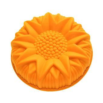 Inch Bakeware Kuchen Formen Silikon Anti-Stick Sonnenblume Backen Gebäck