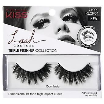 Kiss Lash Couture Triple Push-up Collection Reusable False Eyelashes - Camisole