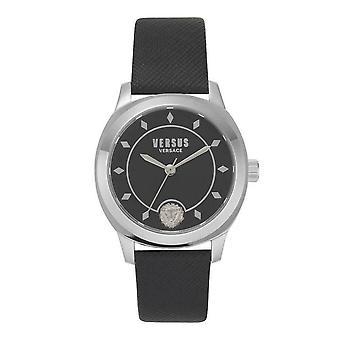 Versus by Versace Women's Watch Wristwatch Durbanville VSPBU0118 Leather