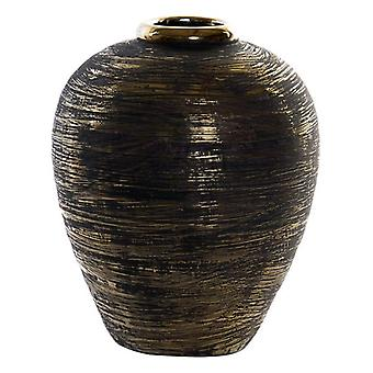 Vase Dekodonia GOLD RAYAS Golden Steinzeug (27 x 34 cm)
