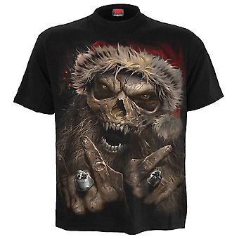 Rock Santa T-Shirt Black