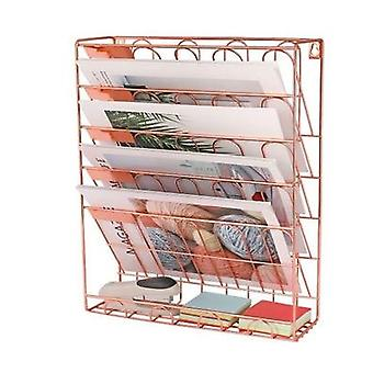简单的书架,桌面图书杂志存储架