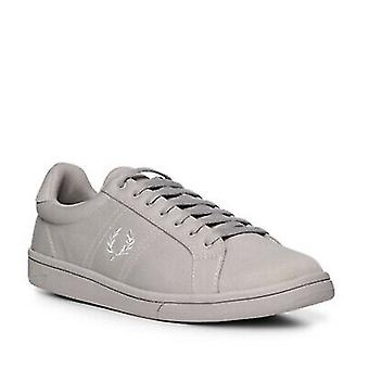 Fred Perry Men's Tricot Trainers Shoes Sneakers B3113-929 Silver