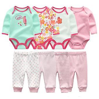 Body dla dzieci + spodnie Zestawy odzieżowe Bawełniane Garnitury