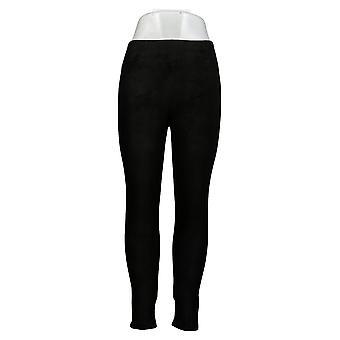 Cuddl Duds Leggings Fleecewear Stretch Black Jegging A342094