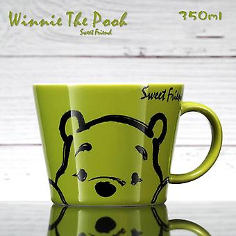 Disney Mugg 350ml Winnie Puh mönster keramisk kopp