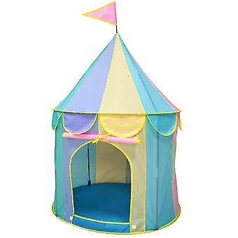 Kids Playing Foldable Tent Kids Tent House Thickened Indoor Toy Princess Castlekids Tent House Macaron Color