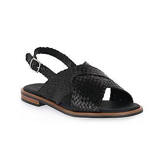Frau black venezia shoes