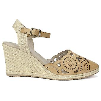 Rialto Womens Coya Leather Closed Toe Casual Espadrille Sandals