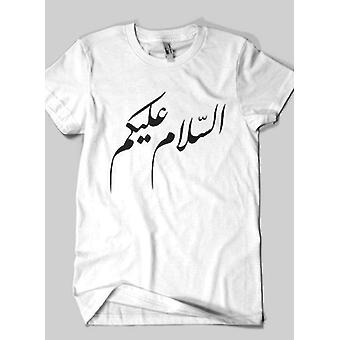 Assalam O Alaykum islamilaisen puoli hihat t-paita