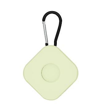 2 stk for lufttags beskyttende sak anti tapt nøkkelring firkantet lysende grønn