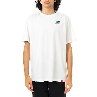 T-shirt homme nouvel équilibre essentiels brodé tee mt11592wt