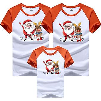 Familie Outfits Papa Mama Baby T-shirts