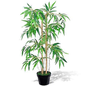 """人工竹の木 """"ツイギー"""" ポット付き 90 cm"""