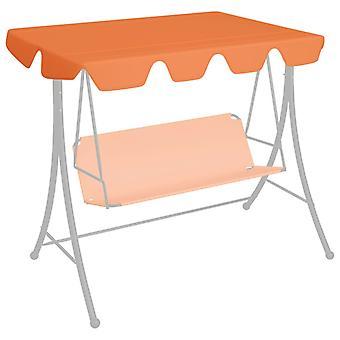 vidaXL Spare roof for garden swing Orange 192x147 cm 270 g/m2