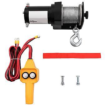 vidaXL 12 V Electric winch 907 kg Cable Remote Control