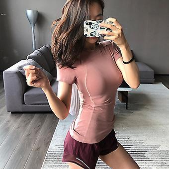 SPORX Women&s Compression Shirt Rosa