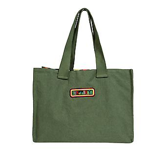 Sun Of A Beach Women's Double Tote Bag Olive 53Cm