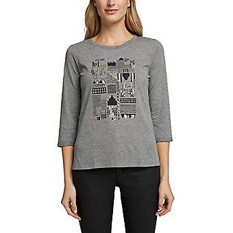 ESPRIT 090EE1K336 T-Shirt, 019/Gunmetal 5, M Vrouw